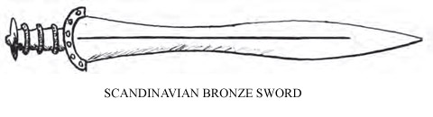 Scandinavian Bronze Sword