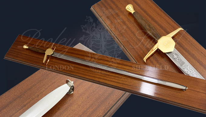 Display Board for Military Swords